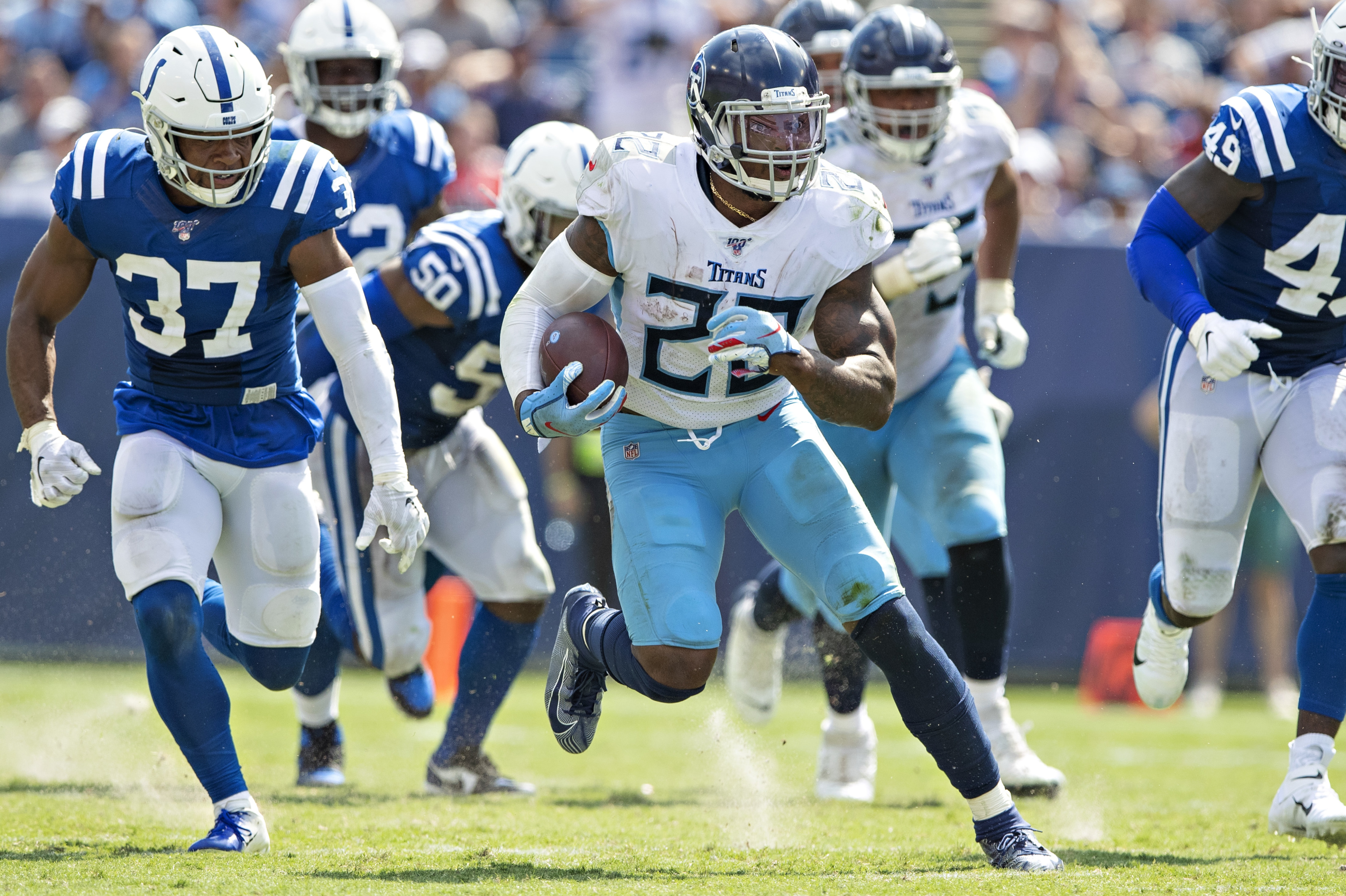 Titans vs. Colts: A game between two teams going in opposite directions