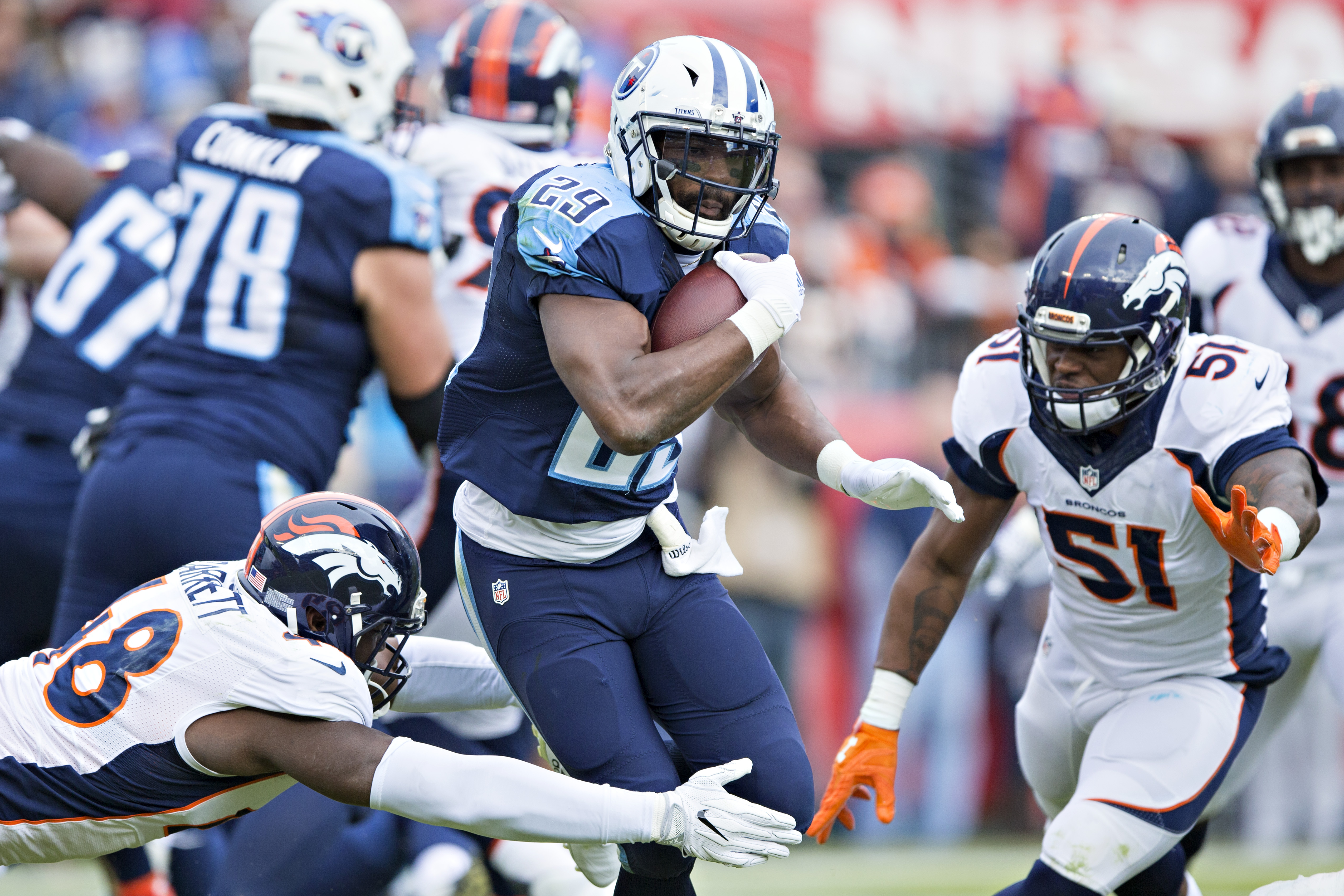 Is the Tennessee Titans Backfield Too Crowded Going Into ...