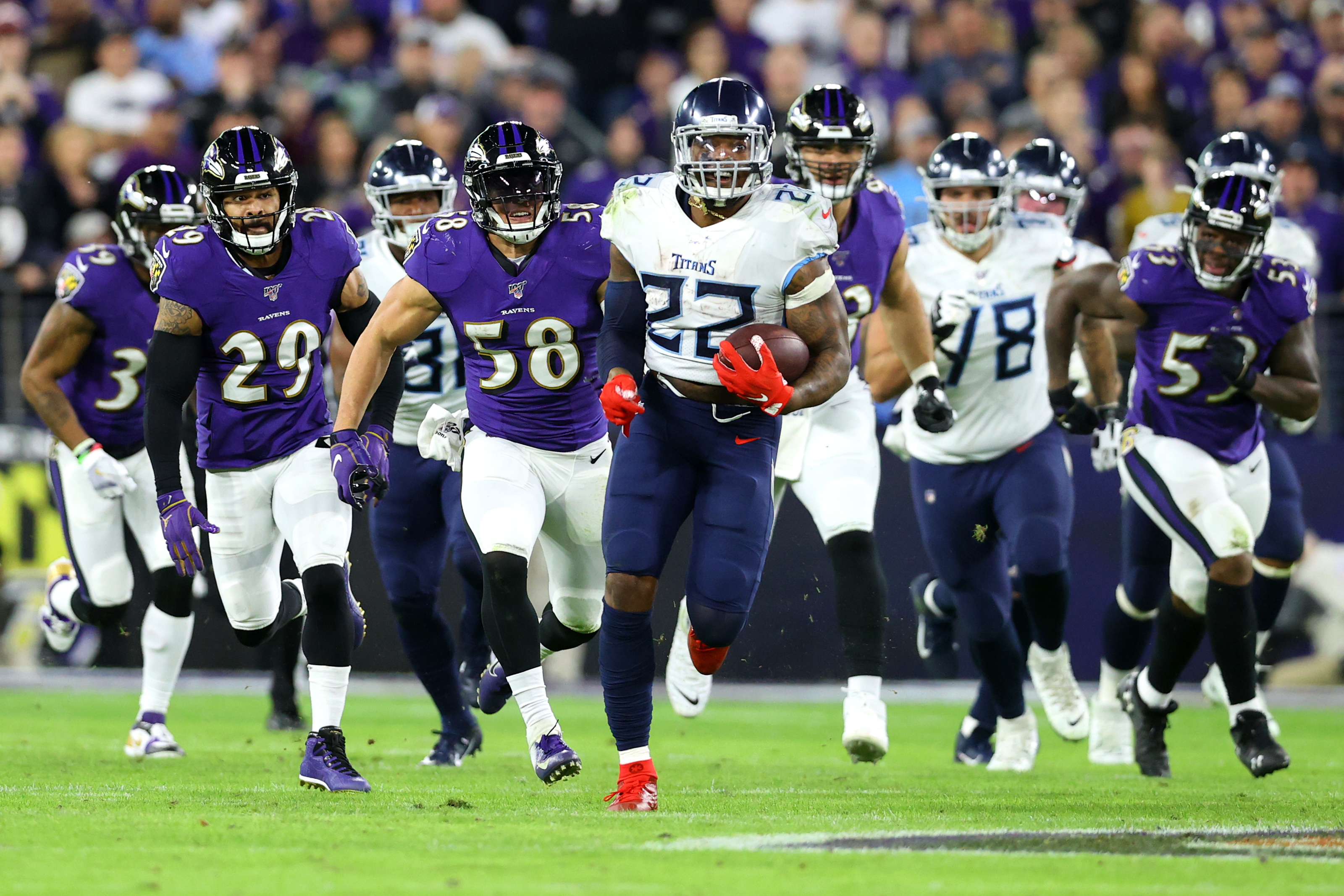 How Will A Tennessee Titans Vs Baltimore Ravens Rematch Look
