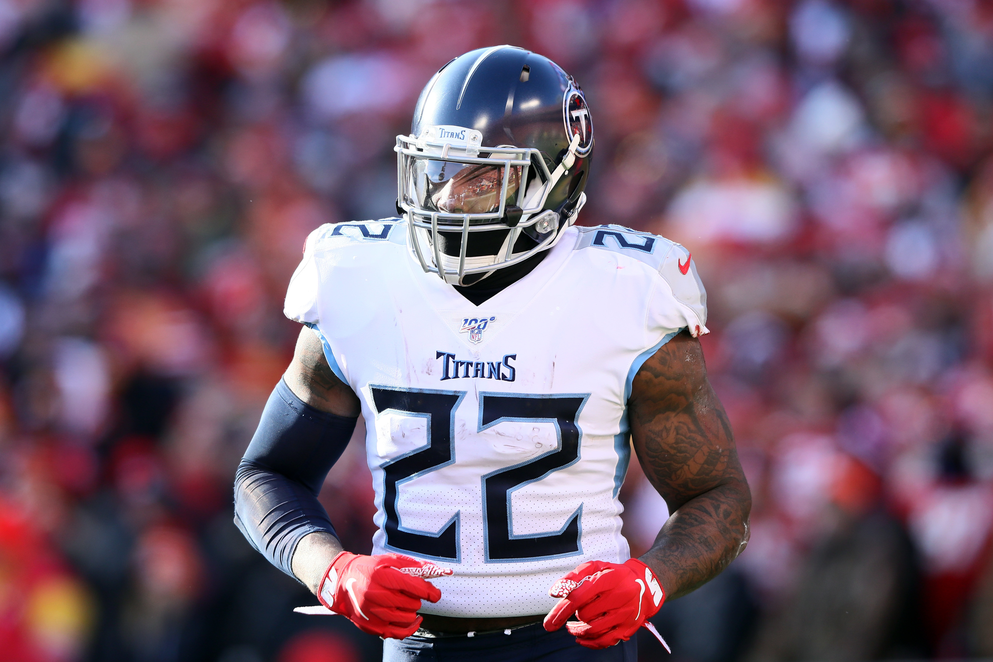 Tennessee Titans and RB Derrick Henry working towards long ...Derrick Henry