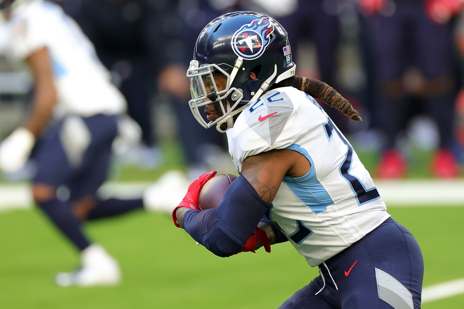 Tennessee Titans: 4 Thoughts on a dream backfield featuring Henry, CJ2K