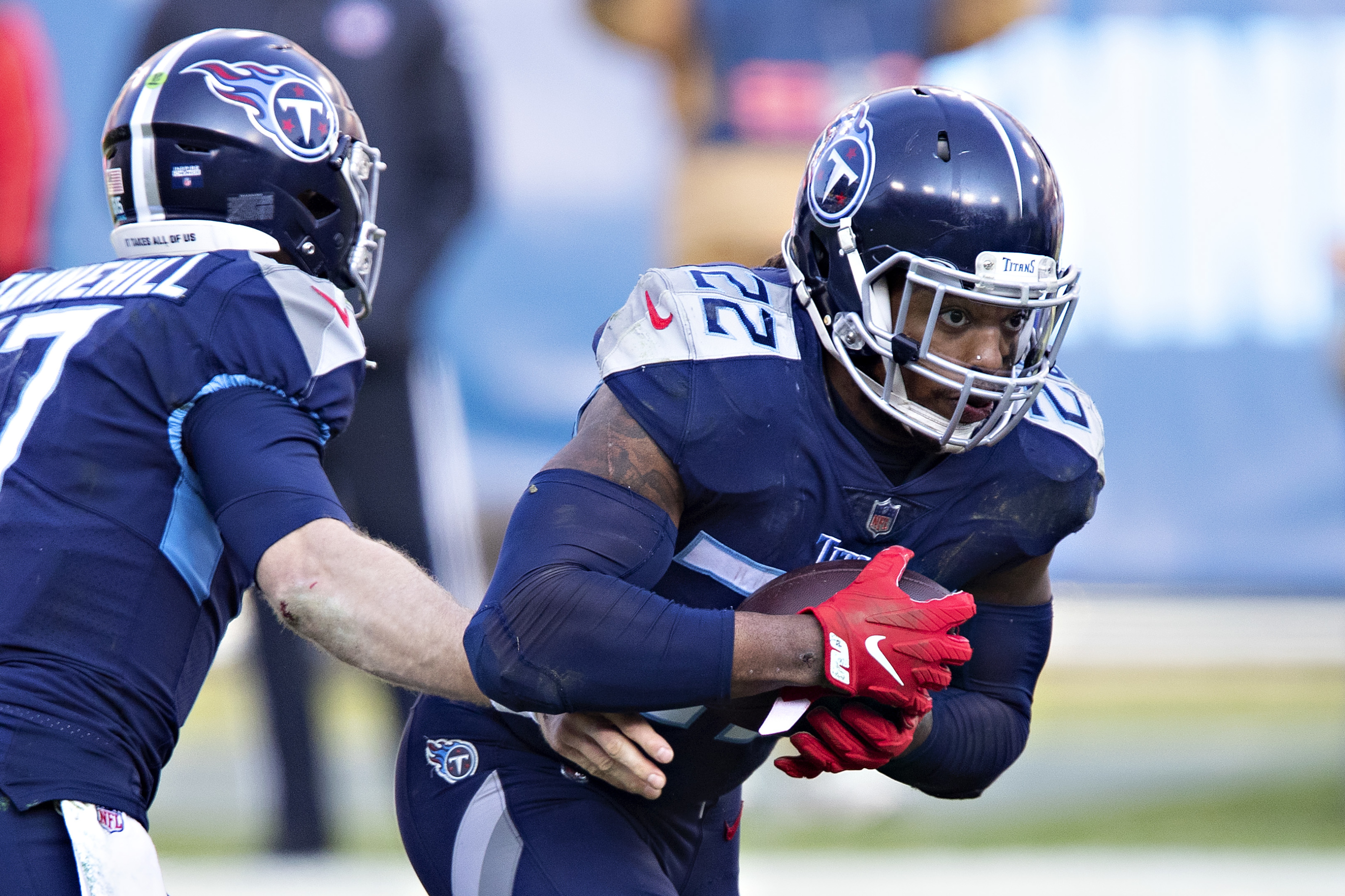 Tennessee Titans news: Don't expect Derrick Henry's workload to lessen